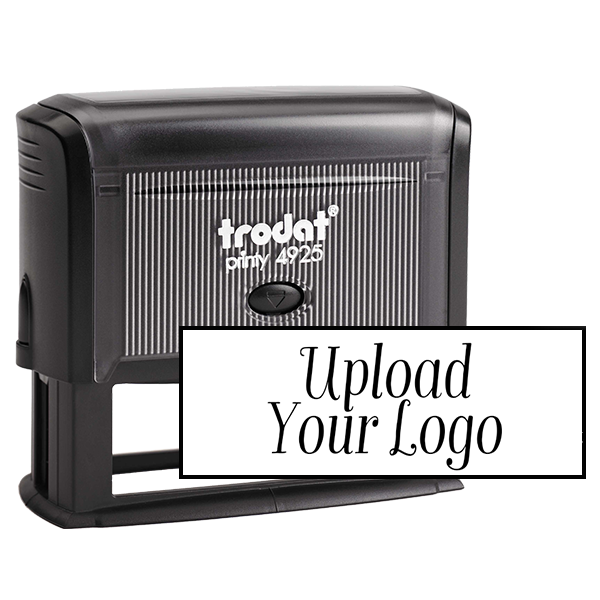 Large Custom Stamp for Rectangle Logos