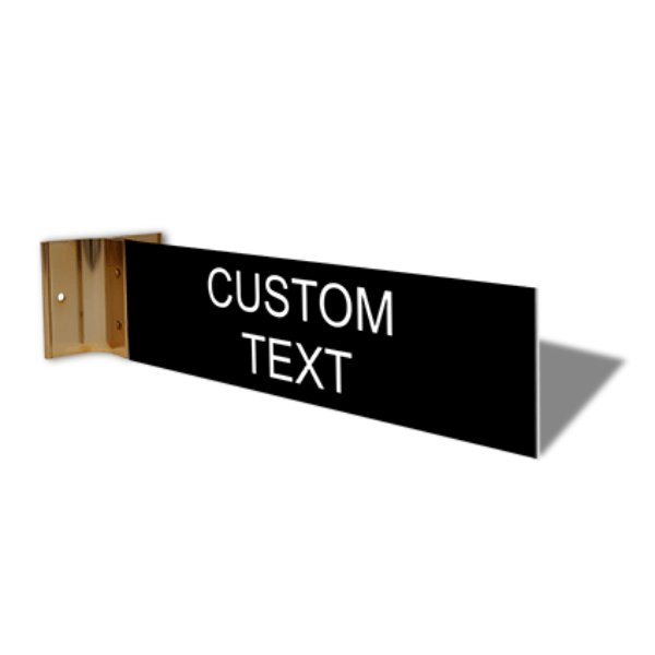 """Custom Text Projection Sign 