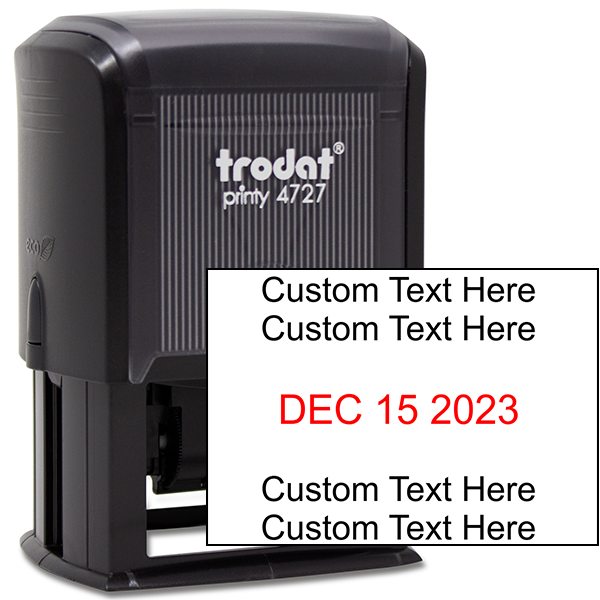 Trodat Dater 4727 with Custom Text