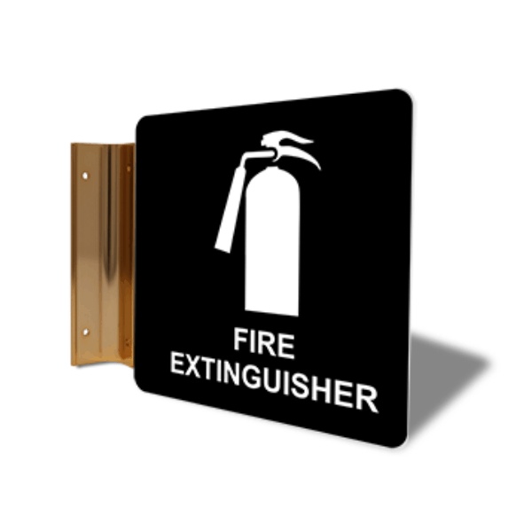 """Fire Extinguisher Projection Sign 
