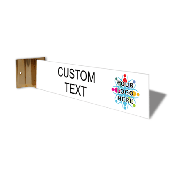 "Custom Text Full Color Corridor Sign | 2"" x 10"""