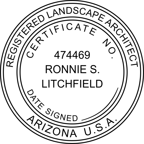 State of Arizona Landscape Architect