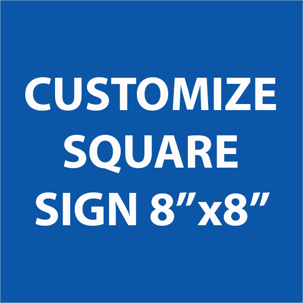 Engraved Sign Square 8
