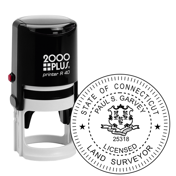 State of Connecticut Land Surveyor Seal