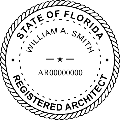 State of Florida Architect design