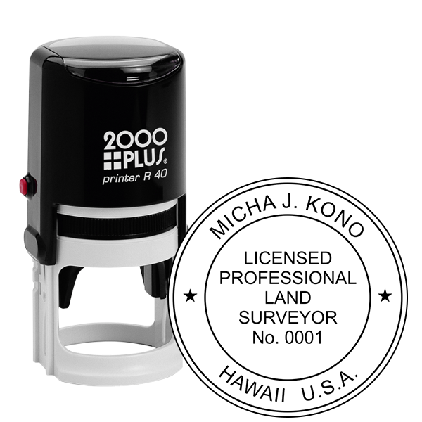 State of Hawaii Land Surveyor