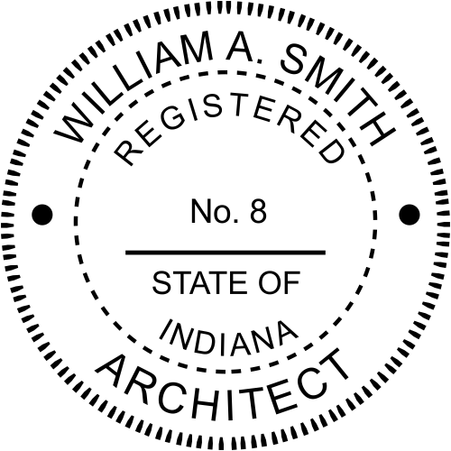 State of Indiana Architect
