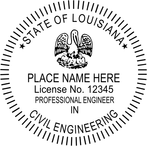 State of Louisiana Engineer, other disclipine