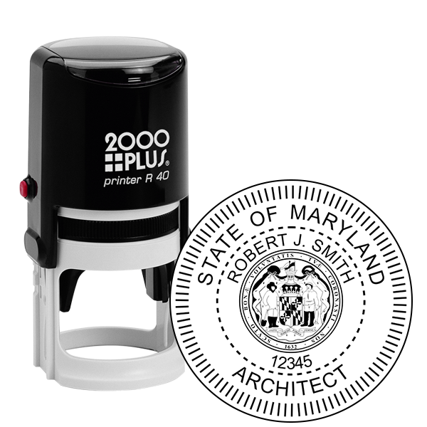 State of Maryland Architect Seal