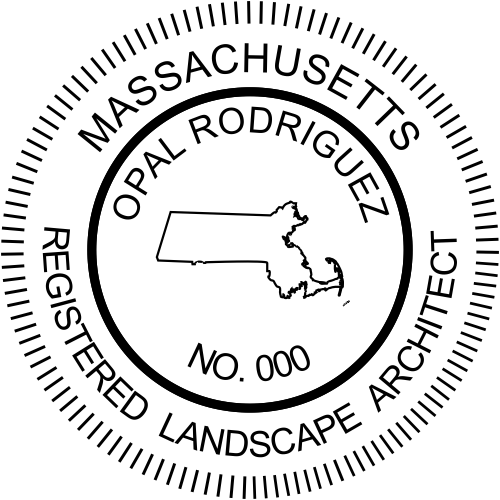 State of Massachusetts Landscape Architect
