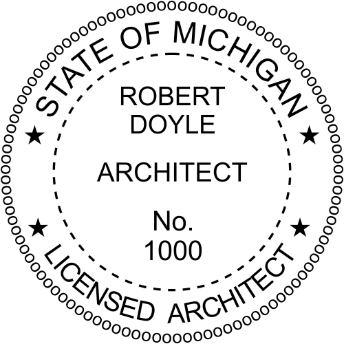 State of Michigan Architect