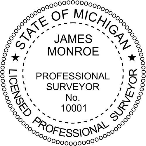 State of Michigan Surveyor
