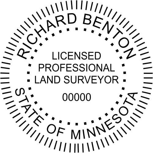 State of Minnesota Land Surveyor