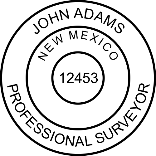 State of New Mexico Surveyor