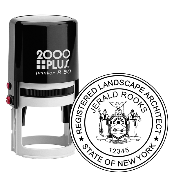 State of New York Landscape Architect Seal