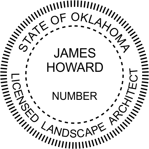 State of Oklahoma Landscape Architect