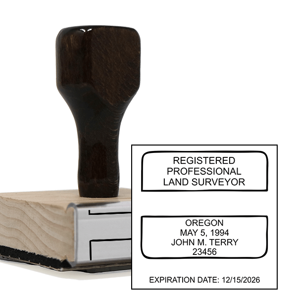 State of Oregon Land Surveyor