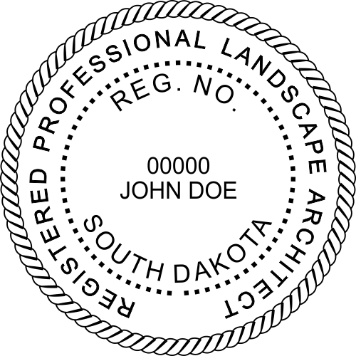 State of South Dakota Landscape Architect