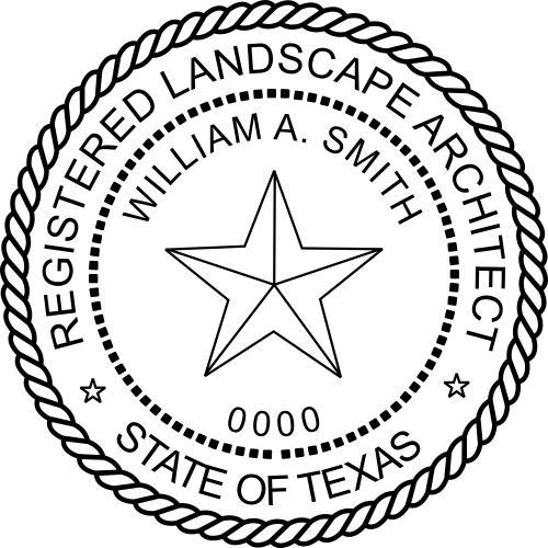 State of Texas Landscape Architect