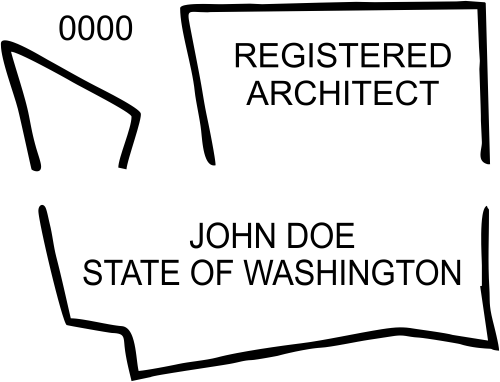 State of Washington Architect
