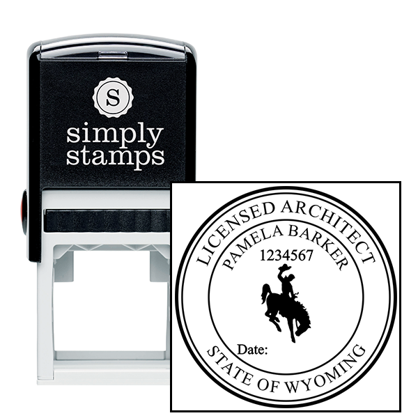 State of Wyoming Architect Seal