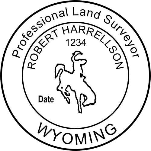 State of Wyoming Land Surveyor