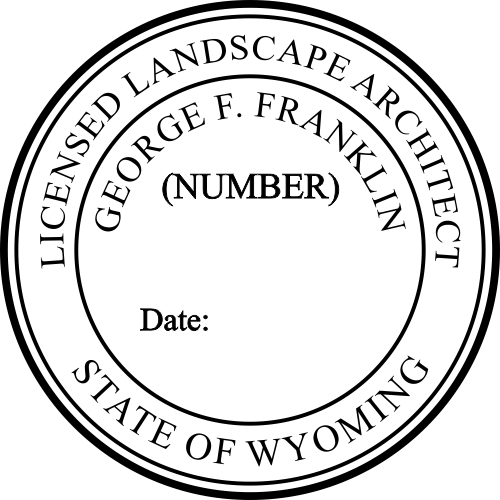 State of Wyoming Landscape Architect