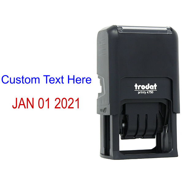 Top Line Custom Date Stamp Body and Design