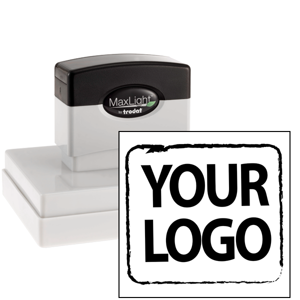 XL Custom Stamp for Square & Round Logos