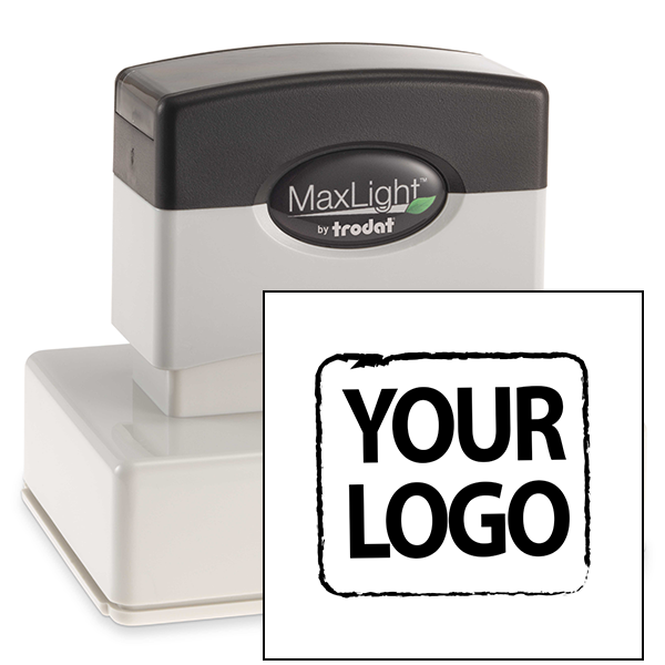 Large Custom Stamp for Square & Round Logos