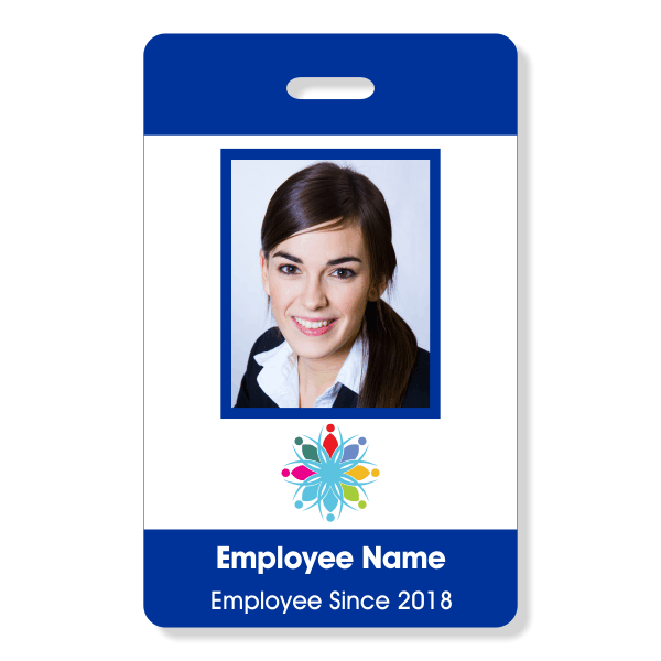 Basic Color ID Badge