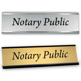 Notary Public Sign with Frame | 2