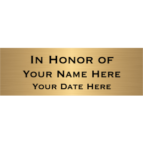 """In Honor Of Brass Plates 