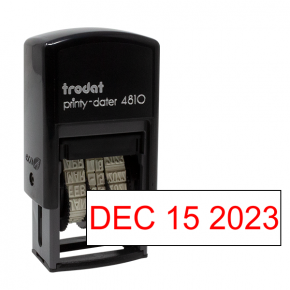 Trodat 4810 Dater Stamp