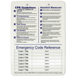 Medical Reference Clipboard