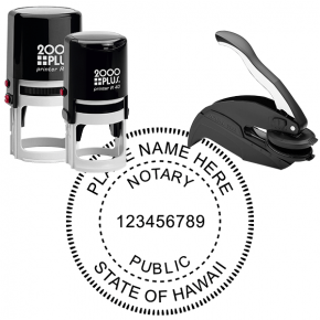 Hawaii Notary Public Stamp Seal