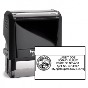 Nevada Notary Rectangular for Resident