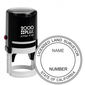 State of California Land Surveyor