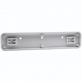 Molded Plastic Holder Only for Desk or Wall Name Plates