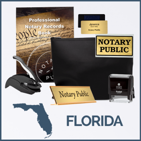 Florida Deluxe Notary Kit