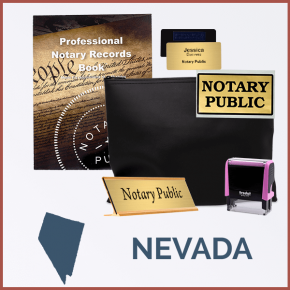 Nevada Pink Deluxe Notary Kit
