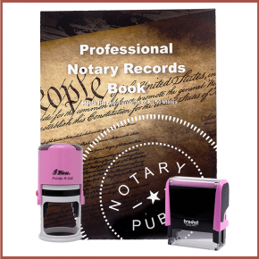 New Hampshire Pink Value Notary Kit