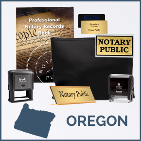 Oregon Deluxe Notary Kit