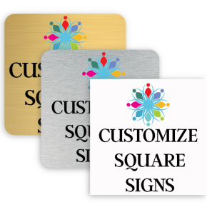 Square Full Color Signs