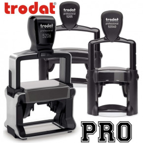 Trodat Professional Series Custom Text Stamps