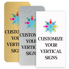 Vertical Color Signs
