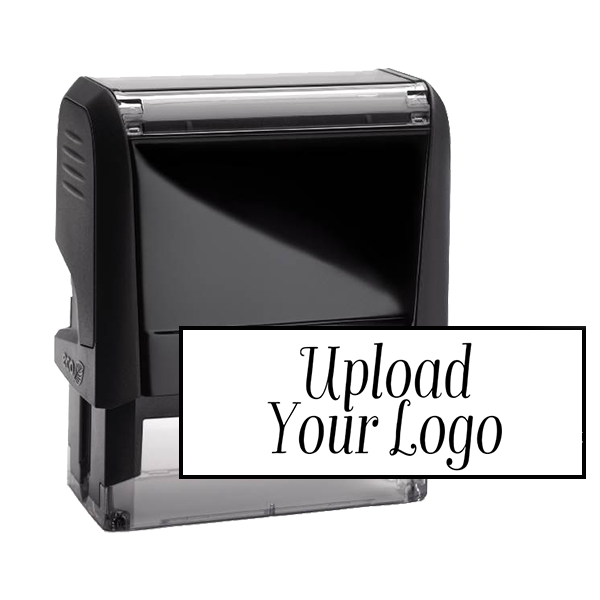 Small Custom Stamp for Rectangle Logos