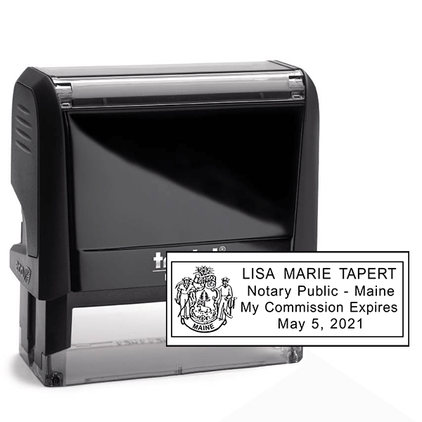 Maine Notary Rectangle