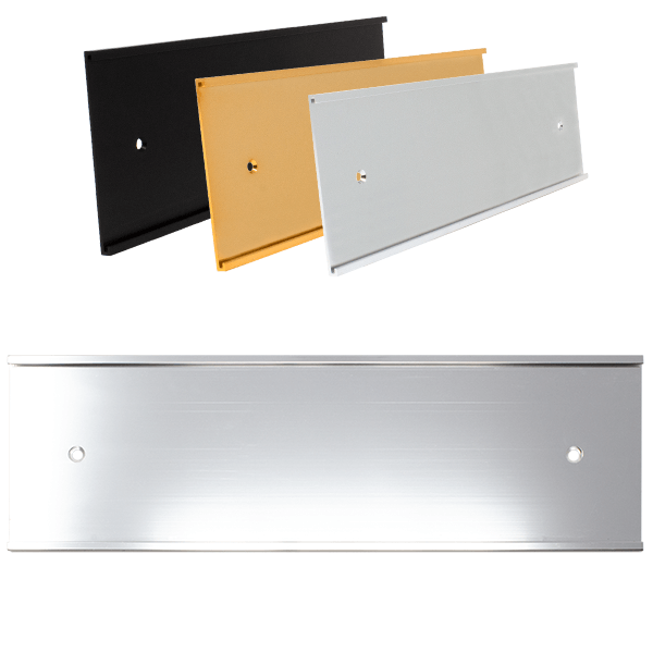 """3"""" x 10"""" Aluminum Wall Holder Only"""