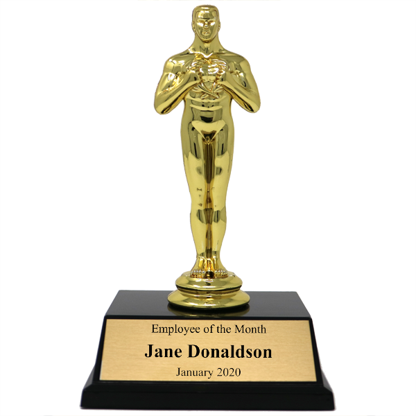 Employee of the Month Achievement Award Trophy